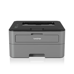 Brother HL-L2300D Monochrome Laserdrucker (2400 x 600 dpi, USB 2.0) schwarz -