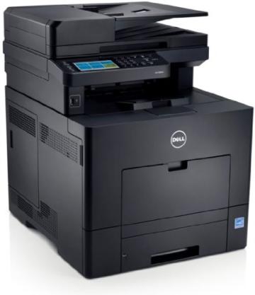 Dell C2665dnf netzwerkfähiger Multifunktions-Farblaserdrucker mit Duplexfunktion (Scanner, Kopierer, Drucker & Fax) -