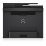 Dell E525w LED-Farblaser-Multifunktionsdrucker (600x600dpi, USB, LAN, WLAN inkl. AirPrint , Fax, Drucken, Scannen, Kopieren) -