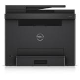 Dell E525w LED-Farblaser-Multifunktionsdrucker (600x600dpi, USB, LAN, WLAN inkl. AirPrint , Fax, Drucken, Scannen, Kopieren) -