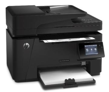 HP LaserJet Pro M127fw Test
