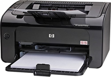 HP LaserJet Pro P1102w Test: ePrint Mono Laserdrucker - 1