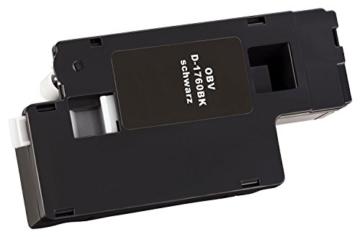 4 x Kompatibler Toner für Dell C1760 / C1765 schwarz, cyan, magenta, gelb -