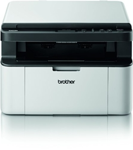 Brother DCP-1510 Kompaktes 3-in-1 Laser-Multifunktionsgerät (Scanner, Kopierer, Drucker) schwarz/weiß -