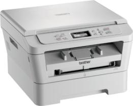 Brother DCP-7055W Monolaser-Multifunktionsgerät 3-in-1 (Drucker, Farbscanner, Kopierer – A4 – 2400x600dpi) - 1