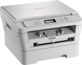 Brother DCP-7055W Monolaser-Multifunktionsgerät 3-in-1 (Drucker, Farbscanner, Kopierer – A4 – 2400x600dpi) - 1