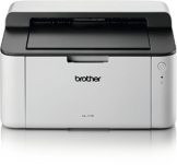 Brother HL-1110 A4 Monochrome Laserdrucker grau/weiß -