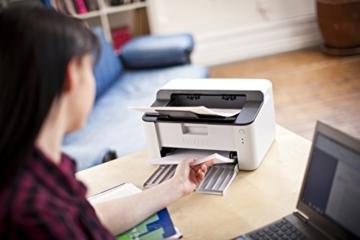 Brother HL-1110 A4 Monochrome Laserdrucker grau/weiß -