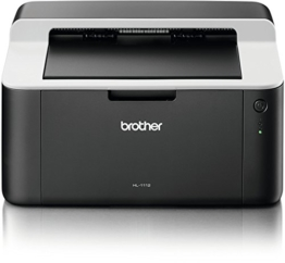 Brother HL-1112 A4 Monochrome Laserdrucker schwarz/grau -
