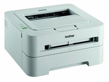 Brother HL-2135W Laserdrucker s/w (A4, Drucker, 2400x600 dpi, WLAN) inkl. kompatibler XL Toner ( bis zu 2.600 Seiten ) und kompatible Trommel im Gerät -