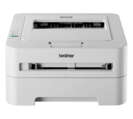 Brother HL-2135W Monochrome Laserdrucker (2400x600dpi, WLAN) weiß -