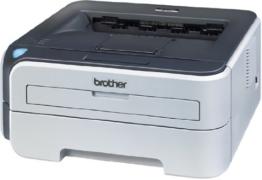 Brother HL-2150N Schwarzweiß Netzwerk-Laserdrucker mit integriertem Printserver - 1