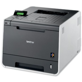 Brother HL-4150CDN Farblaserdrucker (2.400 x 600 dpi, USB 2.0, Duplex) anthrazit/grau -