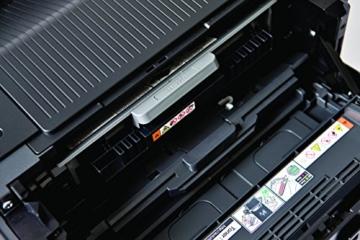 Brother HL-5450DN Monochrome Laserdrucker (Duplex, 1200 x 1200 dpi, LAN) schwarz -