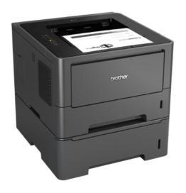 Brother HL-5450DNT Monochrome Laserdrucker (Duplex, 1200 x 1200 dpi, LAN) schwarz -