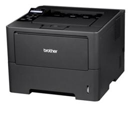 Brother HL-6180DW Monochrome Laserdrucker mit Duplexdruck (1200 x 1200dpi, LAN/WLAN) dunkelgrau -