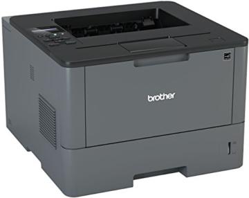 Brother HL-L5000D A4 monochrom Laserdrucker 40 (Drucken, 1.200 x 1.200 dpi, USB, Print AirBag für 200.000 Seiten) -
