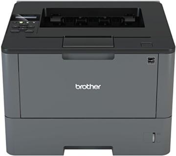 Brother HL-L5100DN A4 monochrom Laserdrucker 4 (Drucken, 1.200 x 1.200 dpi, USB, Print AirBag für 200.000 Seiten) -
