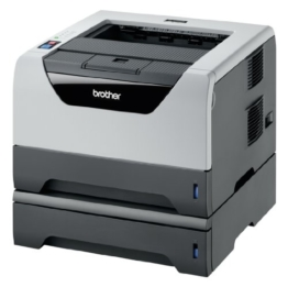 Brother HL5350DNLT monochrom Laserdrucker, 2 x 250 Blatt Kasette -