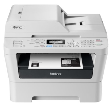 Brother MFC-7360N Monolaser-Multifunktionsgerät (Drucken, scannen, kopieren, faxen, 2.400x600 dpi, USB 2.0 Hi-Speed) -