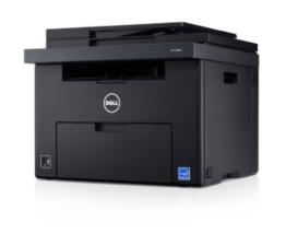Dell C1765nfw LED-Farblaser-Multifunktionsdrucker (600x600dpi, USB, WLAN, LAN, Fax, Drucken, Scannen, Kopieren) -