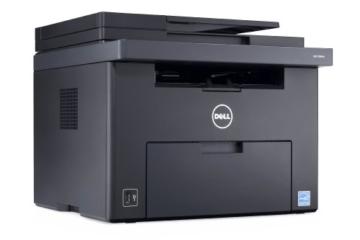 Dell C1765nfw LED-Farblaser-Multifunktionsdrucker 600x600dpi, USB, WLAN, LAN, Fax, Drucken, Scannen, Kopieren