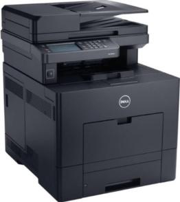 Dell C3765dnf netzwerkfähiger Multifunktions-Farblaserdrucker mit Duplexfunktion (Scanner, Kopierer, Drucker & Fax) -