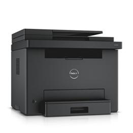 Dell E525w Farblaser-Multifunktionsdrucker inkl. 4 kompatible XL Toner im Gerät -