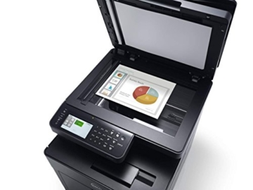 Dell H825cdw Cloudfähiger WLAN Multifunktions-Farblaserdrucker mit automatischer Duplex Druck- & Scanfunktion (Scanner, Fax, Kopierer & Drucker) -