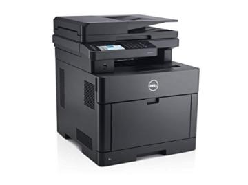 Dell S2825cdn netzwerkfähiger Multifunktions-Farblaserdrucker mit automatischer Duplex Druck- & Scanfunktion (Scanner, Fax, Kopierer & Drucker) -
