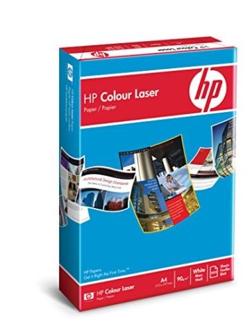 HP CHP370 Colour Laserpapier, 90 g/m², A4 500 Blatt, weiß - 2