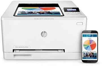 HP Color LaserJet Pro M252n Farb-Laserdrucker (Drucker, LAN, HP ePrint, Apple Airprint, USB, 600 x 600 dpi) weiß -