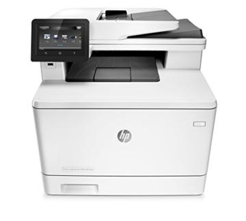 HP Color LaserJet Pro M377dw Farblaser Multifunktionsdrucker (Drucker, Scanner, Kopierer, WLAN, LAN, Duplex, HP ePrint, Airprint, USB, 600 x 600 dpi) weiß -