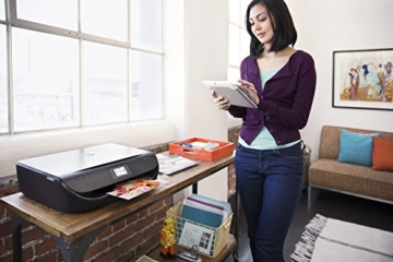 HP Envy 4520 (F0V63B) All in One Multifunktionsdrucker (Fotodrucker, Scanner, Kopierer, 4800 x 1200 dpi, USB, Duplex, WiFi Direct) schwarz -