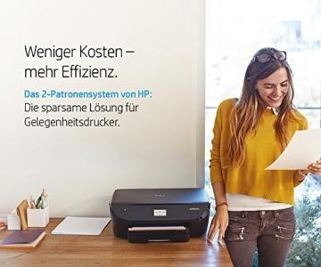 HP Envy 5540 (G0V53A) All in One Fotodrucker (Drucker, Scanner, Kopierer, 4800 x 1200 dpi, USB, Duplex, WiFi Direct) schwarz -