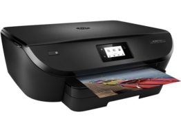 HP Envy 5540 (G0V53A) All in One Fotodrucker (Drucker, Scanner, Kopierer, 4800 x 1200 dpi, USB, Duplex, WiFi Direct) schwarz -