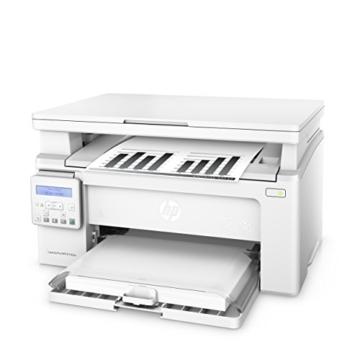 HP LaserJet Pro M130nw Laserdrucker Multifunktionsgerät (Drucker, Scanner, Kopierer, WLAN, LAN, Apple Airprint, HP ePrint, JetIntelligence, USB, 600 x 600 dpi) weiß -