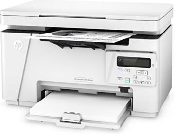 HP LaserJet Pro M26nw Laserdrucker Multifunktionsgerät (Drucker, Scanner, Kopierer, WLAN, LAN, HP ePrint, USB, 600 x 600 dpi) weiß -