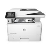 HP LaserJet Pro M426fdw Laserdrucker Multifunktionsgerät (Drucker, Scanner, Kopierer, Fax, WLAN, LAN, Duplex, HP ePrint, Airprint, NFC, USB, 4800 x 600 dpi) weiß -