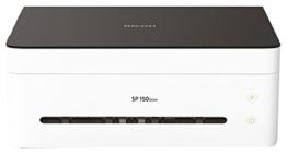 Ricoh SP 150SUw Laser A4 WLAN Schwarz, Weiß - Multifunktionsgeräte (Laser, 600 x 600 DPI, 1200 x 1200 DPI, A4, Mono, Flachbett) -