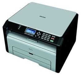 Ricoh SP 211SU Multifunktionsdrucker (Drucker, Scanner, 1200 x 600 dpi, USB 2.0) -