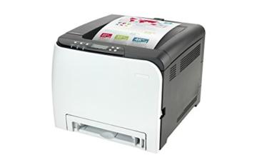 RICOH SP C250DN Farb-Laserdrucker (A4, Drucker, Duplex, WLAN, USB) - 2