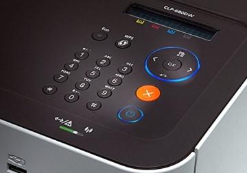 Samsung CLP-680DW/SEE Farblaser-Drucker (Drucken, 9.600 x 600 dpi, 256 MB Speicher, 533 MHz Prozessor) - 4