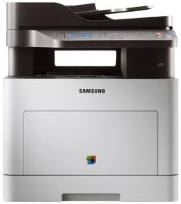 Samsung CLX-6260FD/SEE Farblaser-Multifunktionsgerät (Drucken, Scannen, Kopieren, Faxen, 9.600 x 600 dpi, 512 MB Speicher, 533 MHz Prozessor) -