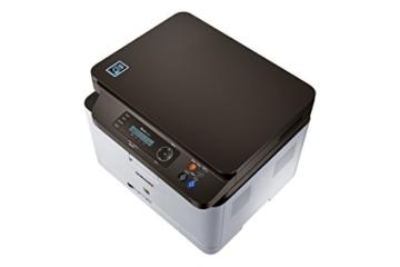 Samsung Xpress C480W/TEG Farblaser-Multifunktionsgerät (Drucken, Scannen, Kopieren, 2.400 x 600 dpi, 128 MB Speicher, 800 MHz Prozessor) grau/schwarz -