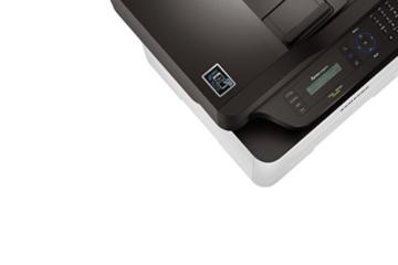 Samsung Xpress M2885FW/XEC Monolaser-Multifunktionsgerät (Drucken, Scannen, Kopieren, Faxen, 4.800 x 600 dpi, 128 MB Speicher, 600 MHz Prozessor) -