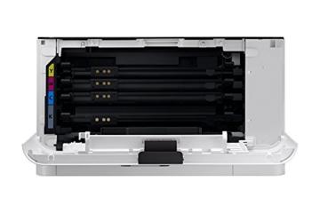 Samsung Xpress SL-C430 Farblaserdrucker (Drucken, 2.400 x 600 dpi, 64 MB Speicher, 400 MHz Prozessor) grau/schwarz -